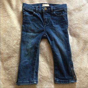 Baby GAP denim skinny jeans toddler girls 2T